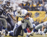 Emmitt Smith Dallas Cowboys -Record Breaker- Autographed Photo (Hand Signed Collectable) Photo