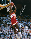 Dominique Wilkins Atlanta Hawks Autographed Photo (Hand Signed Collectable) Fotografía
