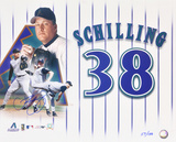 Curt Schilling Arizona Diamondbacks Limited Edition  Collage Photo