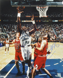 Karl Malone Utah Jazz - Purple Autographed Photo (Hand Signed Collectable) Photo