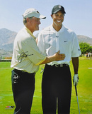 Jack Nicklaus Golf with Tiger Woods, 16x20 Autographed Photo (Hand Signed Collectable) Photo