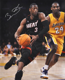 Dwyane Wade Miami Heat Autographed Photo (Hand Signed Collectable) Fotografía