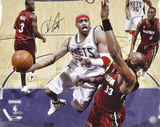 Vince Carter New Jersey Nets - Layup vs. Heat - Autographed Photo (Hand Signed Collectable) Photo
