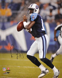 Vince Young Tennessee Titans Autographed Photo (Hand Signed Collectable) Photo