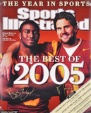 Reggie Bush and Matt Leinart USC Trojans Autographed Photo (Hand Signed Collectable) Photo