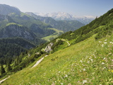 View From Jenner of the Berchtesgadener Land, Bavaria, Germany, Europe Photographic Print by Jochen Schlenker