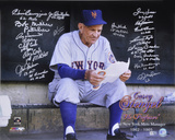 1962 New York Mets 1st Mets Manager 19 Signatures Autographed Photo (Hand Signed Collectable) Photo