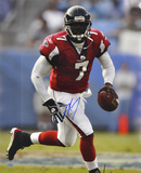 Michael Vick Atlanta Falcons - Looking Upfield - Photo