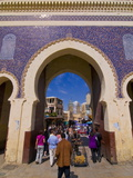 Old Medina of Fez, UNESCO World Heritage Site, Morocco, North Africa, Africa Fotografiskt tryck av Michael Runkel
