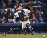 Joe Girardi New York Yankees - Action Autographed Photo (Hand Signed Collectable) Photo