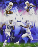 Marvin Harrison Indianapolis Colts - 88 Collage Autographed Photo (Hand Signed Collectable) Photo