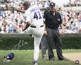 Lou Piniella Chicago Cubs Tirade Autographed Photo (Hand Signed Collectable) Photographie