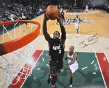 Dwyane Wade Miami Heat Autographed Photo (Hand Signed Collectable) Photo