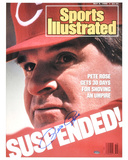Pete Rose Cincinnati Reds - 1988 Sports Illustrated Cover Photo