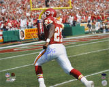 Larry Johnson Kansas City Chiefs - Action Autographed Photo (Hand Signed Collectable) Photo