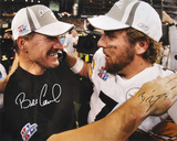 Bill Cowher & Ben Roethlisberger SB PittsburgSteelers SB Autographed Photo (H& Signed Collectable) Photo