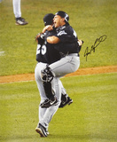 Ivan 'Pudge' Rodriguez Miami Marlins Autographed Photo (Hand Signed Collectable) Photo