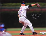 Tom Glavine New York Mets - 300th Win with 300W 8-5-07 Inscription Photo