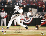 A.J. Pierzynski White Sox ALCS Game 2, 3rd Strike Autographed Photo (Hand Signed Collectable) Photo