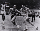 Jerry West and John Havlicek Dual Autographed Photo (Hand Signed Collectable) Fotografía