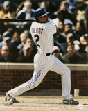 Ryan Theriot Chicago Cubs - Swinging Autographed Photo (Hand Signed Collectable) Photo