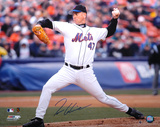 Tom Glavine New York Mets - On The Mound Autographed Photo (Hand Signed Collectable) Photo