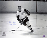 Gordie Howe - Detroit Red Wings with Mr. Hockey  Autographed Photo (Hand Signed Collectable) Photo