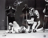 Lawrence Taylor Signed - New York Giants Photo
