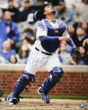 Geovany Soto Chicago Cubs Catching Autographed Photo (Hand Signed Collectable) Photo