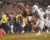 Reggie Bush USC Trojans - Dive Into End Zone vs. TexasAutographed Photo (Hand Signed Collectable) Photo