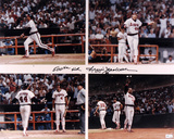 Reggie Jackson California Angels 500th Homerun Autographed Photo (Hand Signed Collectable) Photo
