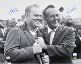Jack Nicklaus & Arnold Palmer 65 Golf Masters Autographed Photo (Hand Signed Collectable) Foto