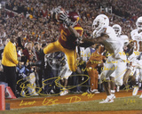 Reggie Bush & Michael Huff Championship Dual Autographed Photo (Hand Signed Collectable) Photo