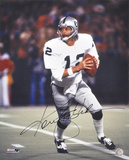 Ken Stabler Oakland Raiders Autographed Photo (Hand Signed Collectable) Photo