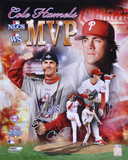 Cole Hamels Phillies 08 World Series & NLCS MVP Autographed Photo (Hand Signed Collectable) Photo