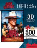 John Wayne 500 Piece 3-D Lenticular Jigsaw Puzzle Jigsaw Puzzle