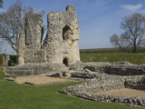 Ludgershall Castle, An 11th Century Fortress of Flintstone Construction, Wiltshire Photographic Print by James Emmerson