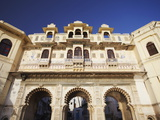 Bagore-Ki-Haveli, Udaipur, Rajasthan, India, Asia Photographic Print by Ian Trower