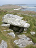 Old Tomb, Samson, Isles of Scilly, United Kingdom, Europe Photographic Print