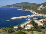 Harbour at Kalkan, a Popular Tourist Resort, Antalya Province, Anatolia, Turkey Fotografie-Druck