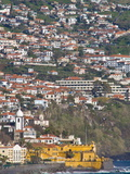 View Over the Old Town of Funchal, Madeira, Portugal, Atlantic, Europe Photographic Print by Michael Runkel