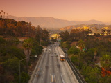 Route 110, Los Angeles, California, USA Photographic Print by Alan Copson