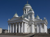 The Lutheran Cathedral, Senate Square, Helsinki, Finland, Scandinavia, Europe Photographic Print by James Emmerson