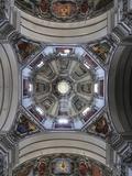Interior Detail, Salzburger Dom, Salzburg, Austria, Europe Photographic Print by Jochen Schlenker