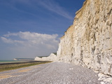 The Seven Sisters Cliffs, Birling Gap, South Downs National Park, East Sussex, England, Uk Photographic Print by Neale Clarke