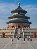 The Temple of Heaven, Bejing, China, Asia Fotografiskt tryck av Michael Runkel
