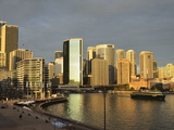 Circular Quay, Sydney Cove and City Skyline, Sydney, New South Wales, Australia, Pacific Photographic Print by Jochen Schlenker
