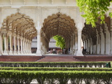 Diwan-I-Am (Hall of Public Audiences) in Agra Fort, Agra, Uttar Pradesh, India Photographic Print by Ian Trower