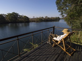 Lunga River Lodge, Kafue National Park, Zambia, Africa Photographic Print by Sergio Pitamitz