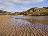 Sand Ripple Patterns on Little Gruinard Beach, Gruinard Bay, Wester Ross, Northwest Scotland Photographic Print by Neale Clarke
